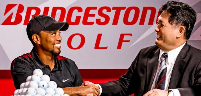 Tiger Woods Signs Multi-year Deal with Bridgestone Golf