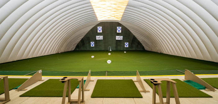 Mistwood Golf Dome – First U.S. Indoor Golf Facility to Install Toptracer Range Technology