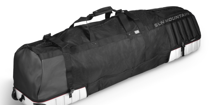 New Kube Golf Travel Bag by Sun Mountain Folds Up Tiny