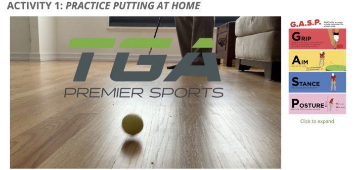 TGA Keeps Kids Engaged in Golf During Coronavirus