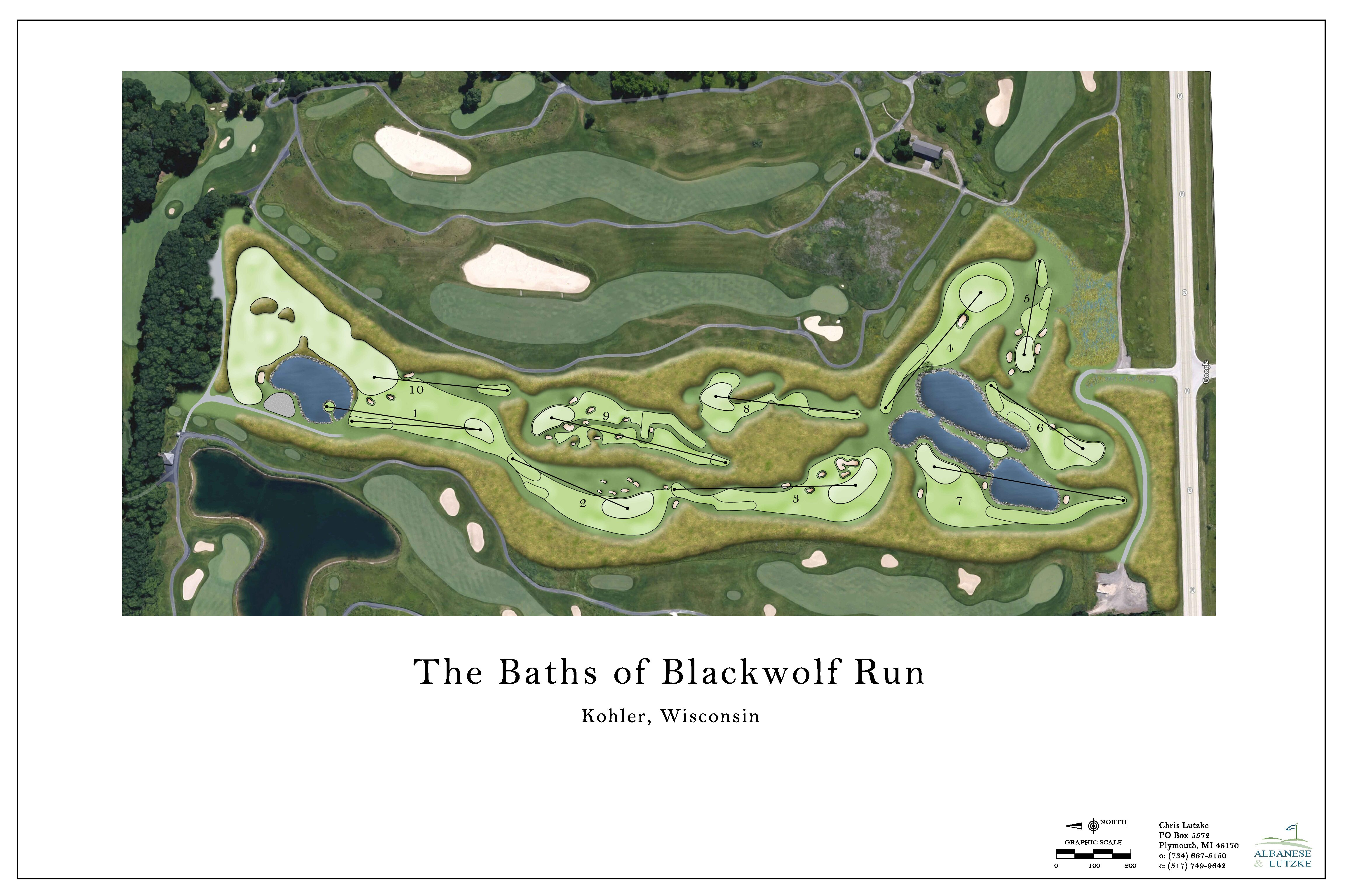 Destination Kohler Introduces The Baths of Blackwolf Run Which Will Include an Innovative 10-Hole Par 3 Course & Two-Acre Putting Course