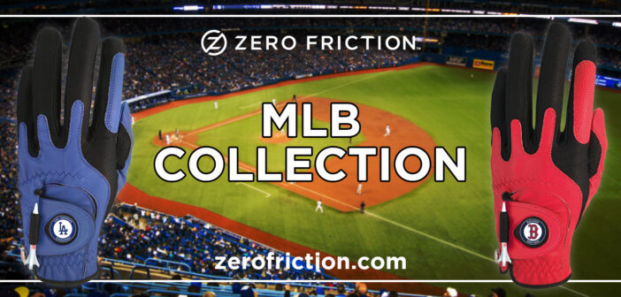 Cheer On Your Favorite Baseball Team With A MLB-licensed Golf Glove From Zero Friction